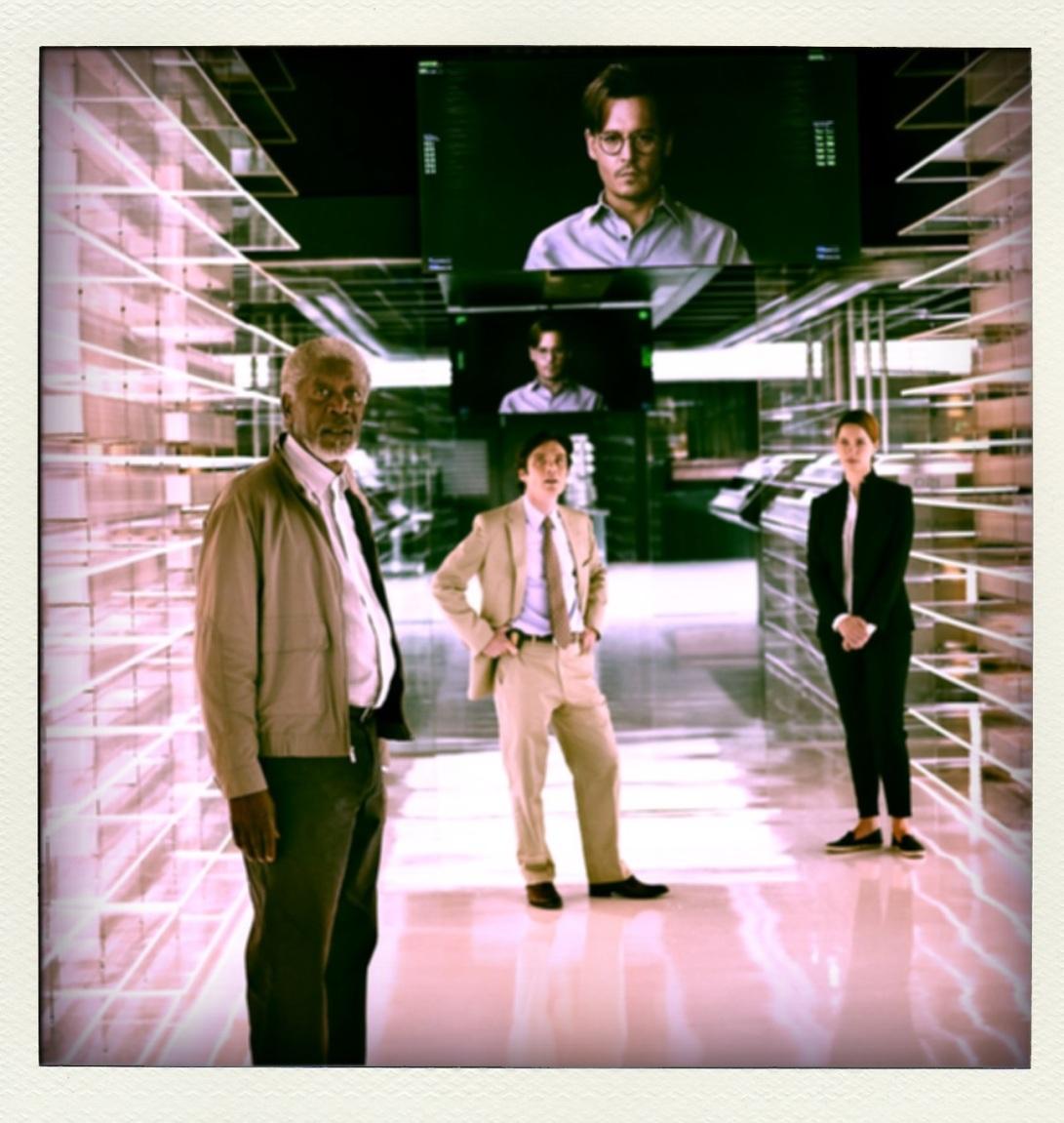 Transcendence @ www.cinemascream.co.uk