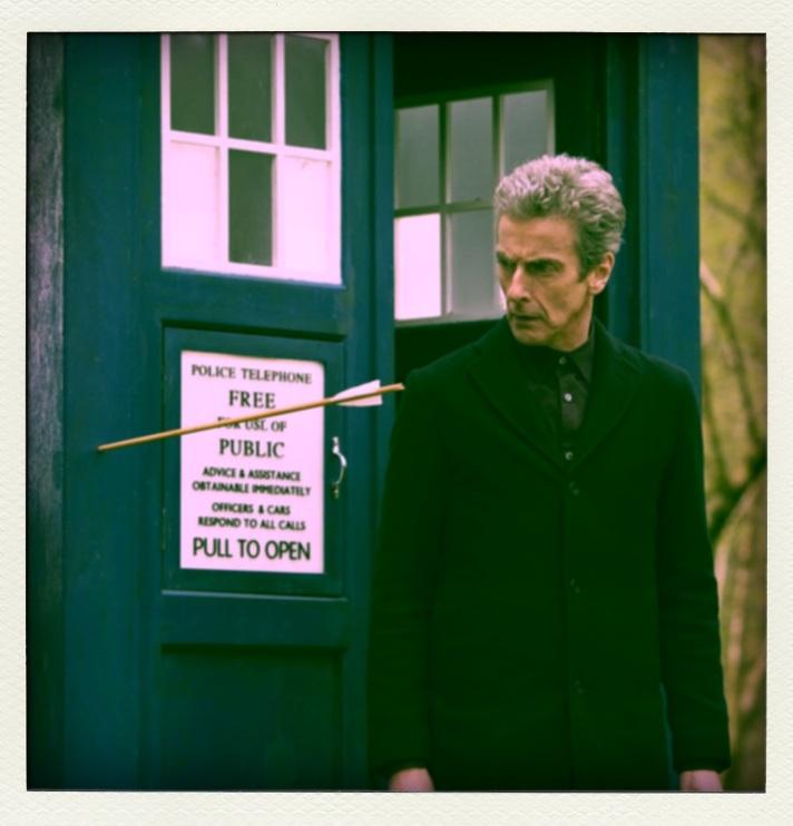 Doctor Who Robots of Sherwood @ www.cinemascream.co.uk